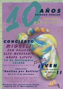 Cartel 10º aniversario